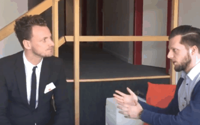 Interview by Dallas after my UBA Trends Day talk in Brussel
