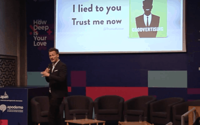 "Keynote ""I lied to you, trust me now"", Lisbon 2017"