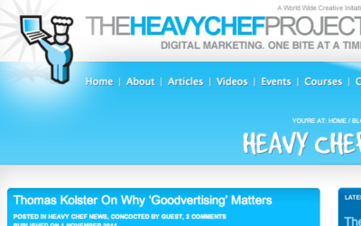 Interview with The Heavychef, Nov 2011