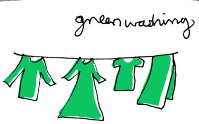 Don't be afraid of green washing, be afraid of green nothing