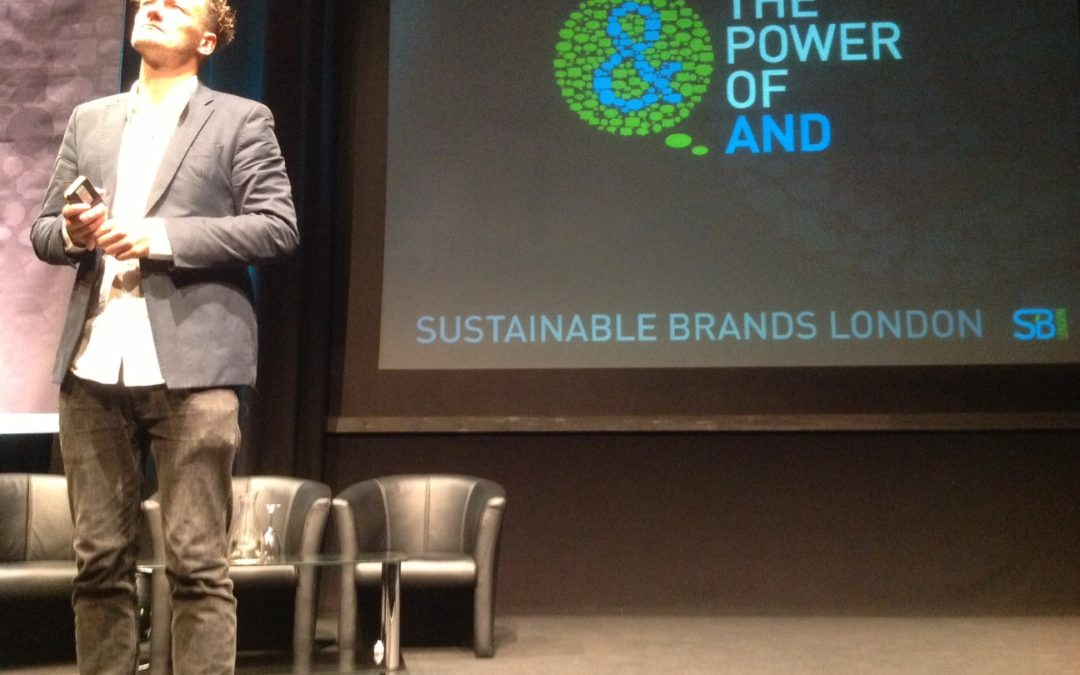 Sustainability is the new competition – learnings from Sustainable Brands