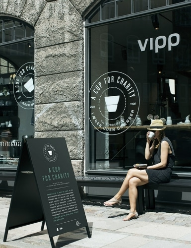 A Cup for Charity: Copenhagen's Pop Up Charity Shop