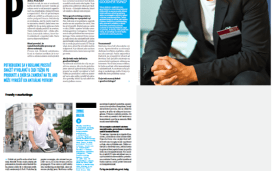 INTERVIEW: Slovakian Profit Magazine (sorry not in English)