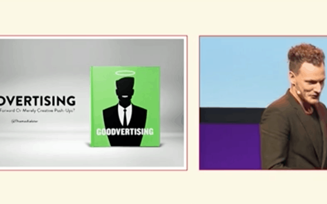 Goodvertising & Thomas Kolster at Eurobest – The European Festival of Creativity in Advertising