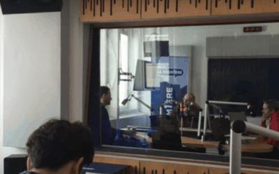 Interview in Belgian National Radio, La Premiere
