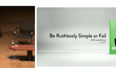 Sedex Conference: Be Ruthlessly Simple or Fail
