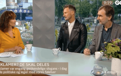 Discussing the Future of Advertising in Danish TV Morning Show