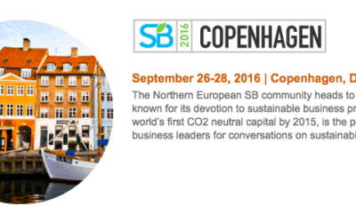 Happy to be joining the Sustainable Brands European Host Committee bringing the event to Copenhagen
