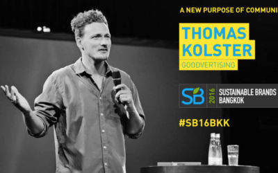 Sustainable Brands '16 Bangkok – A New Purpose of Advertising