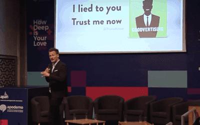 """Keynote """"I lied to you, trust me now"""", Lisbon 2017"""