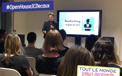 Goodvertising & the Future of Smart cities at JCDecaux