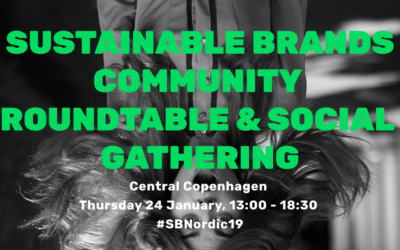 Join me at Sustainable Brands Nordic on 24 January!
