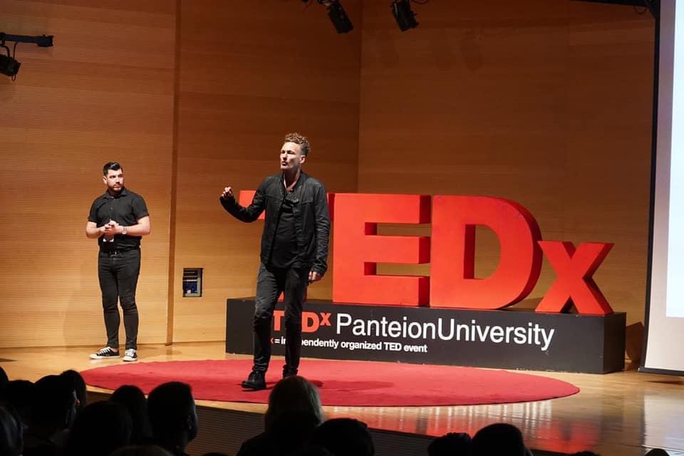 TEDx Panteion University Thomas Kolster